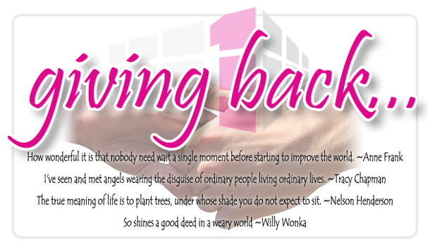 Giving Back Magnificent Quotes About Giving Back